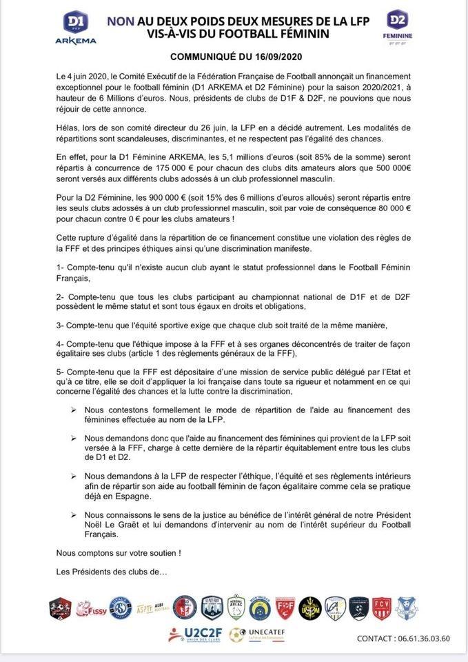 """#D1Arkema - D2 : L'inégalité des aides financières finalement réduite entre clubs """"pro"""" et """"amateur"""""""
