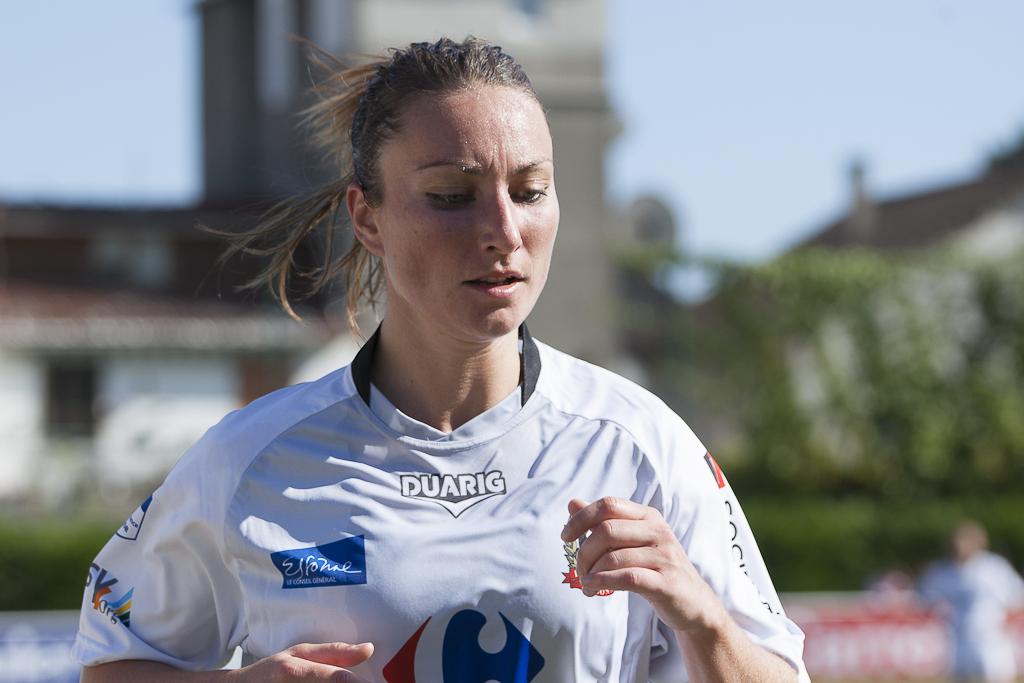 Gaëtane Thiney lors de la saison 2011-2012 (photo Eric Baledent)