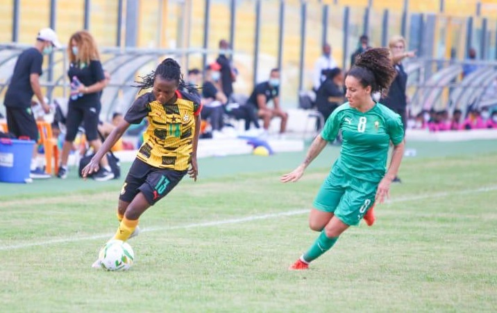 Amani à droite et le Maroc se sont inclinés deux fois au Ghana