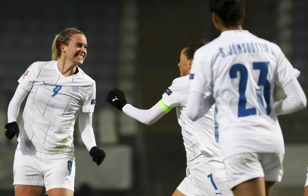 La Havraise Thorvaldsdottir a inscrit le but de la qualification islandaise