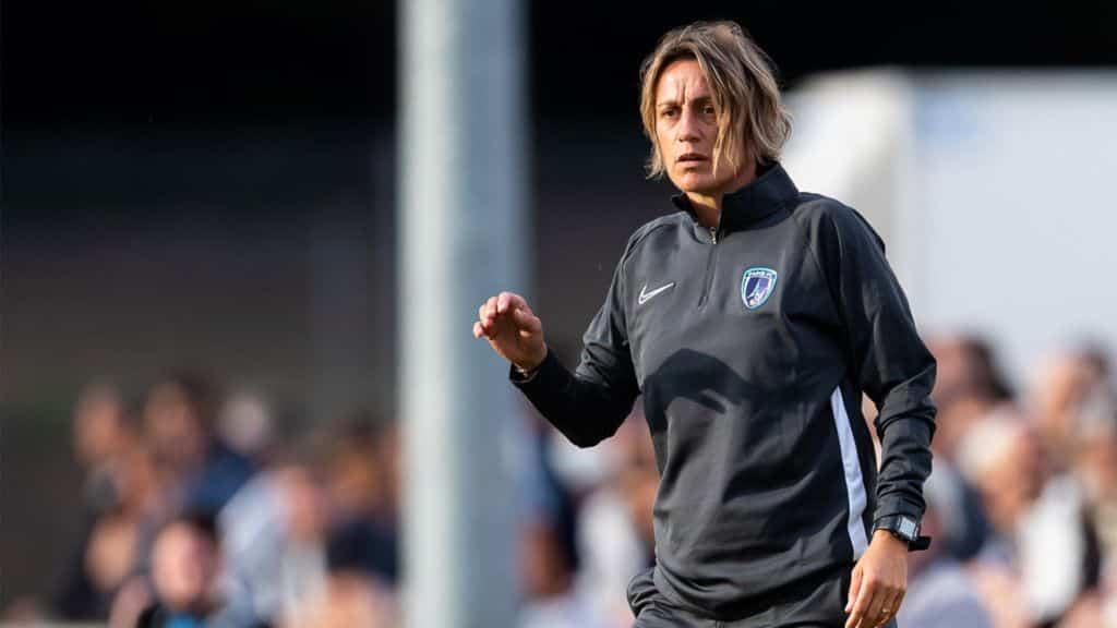 Sandrine Soubeyrand (photo Paris FC)