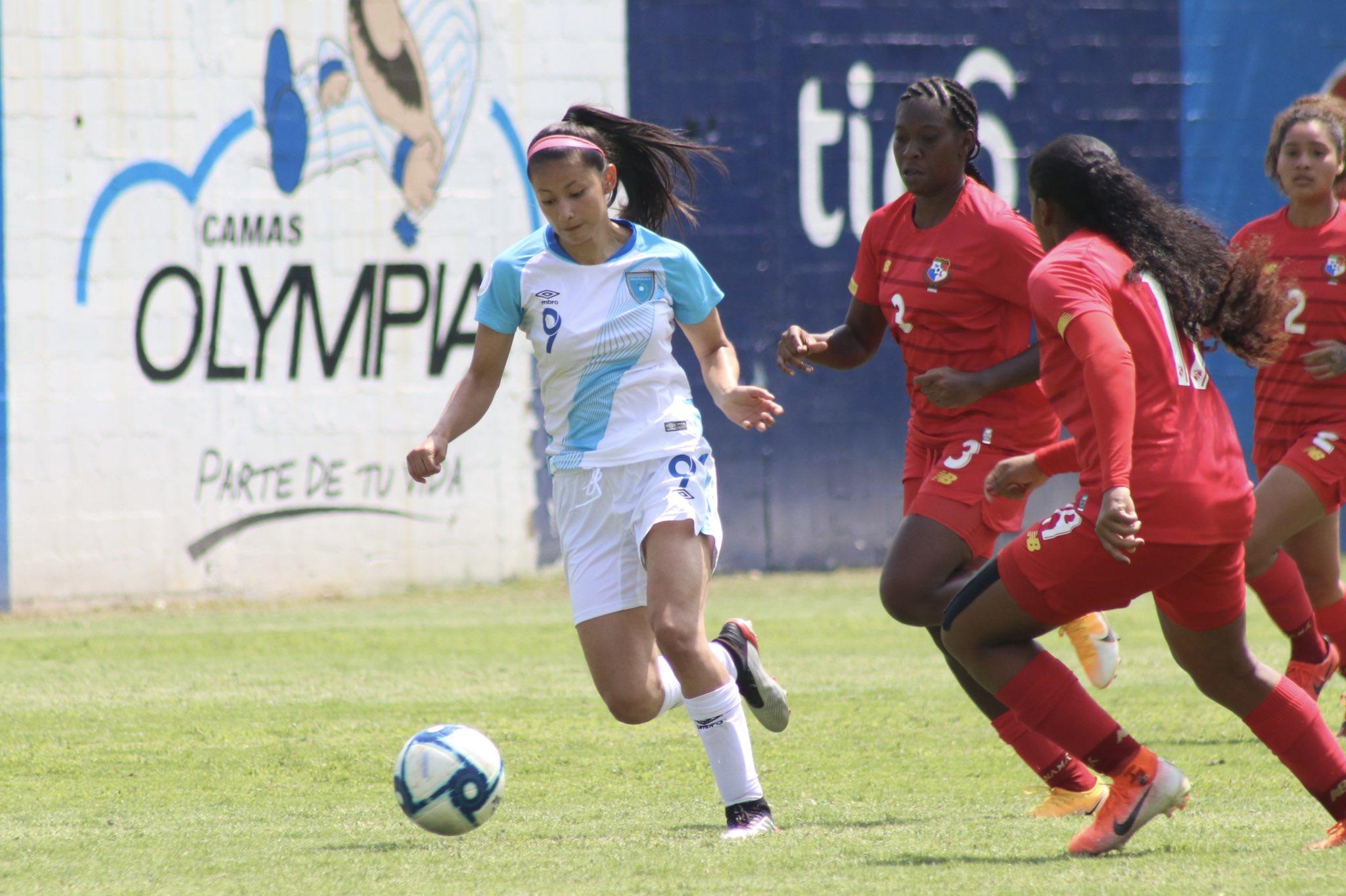 Andrea Álvarez a inscrit un doublé pour le Guatemala (photo Fédération Guatemala)