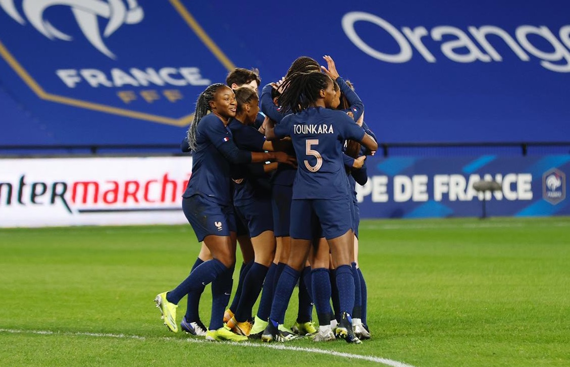 Le but de l'inévitable Wendie Renard (photo FFF)
