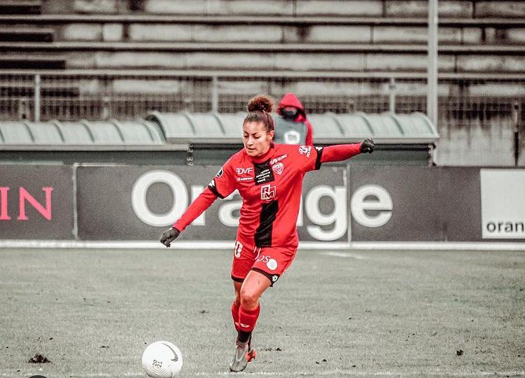 """Elodie NAKKACH (Dijon FCO) : """"Je pense que le PSG peut être champion cette saison"""""""