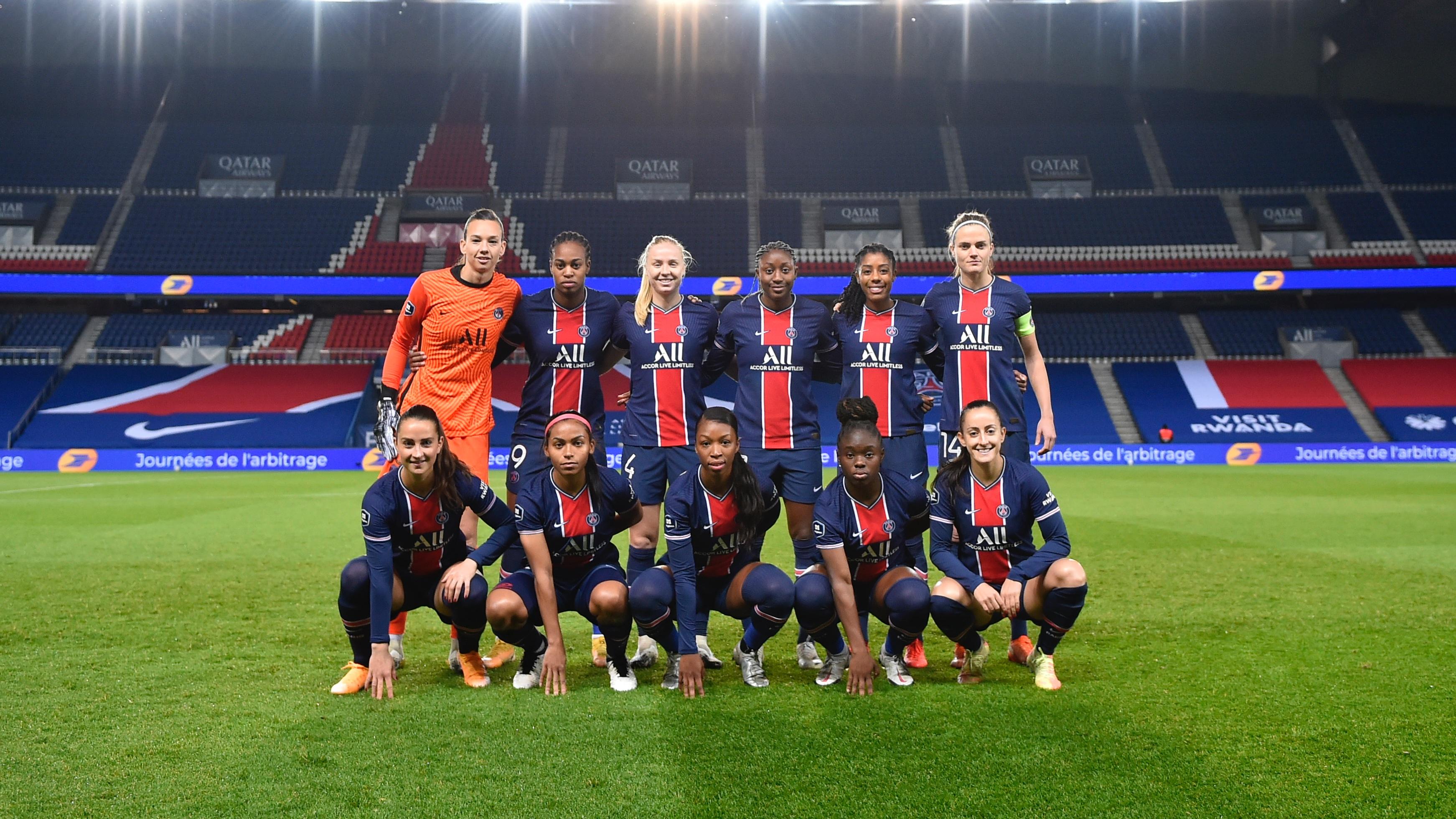 Les Parisiennes à 90 minutes d'un premier titre en D1 (photo PSG)