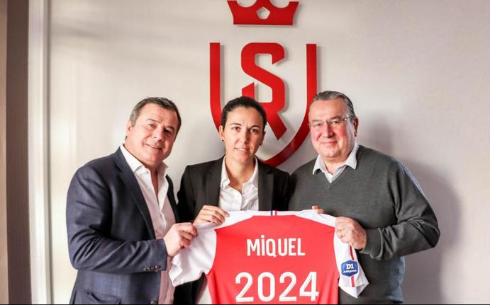 Amandine Miquel (photo Stade de Reims)