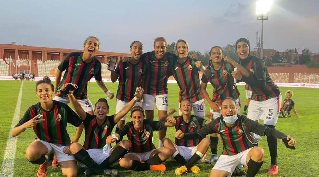 Les Marocaines de l'AS FAR ont brillé pour leurs débuts européens (photo DR)