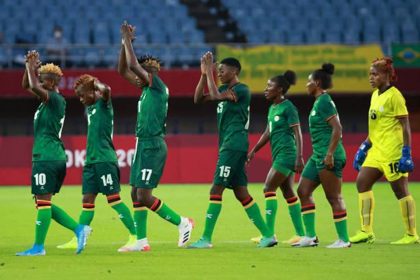Eliminées, la Zambie de Banda aura malgré tout marqué cette compétition (photo FIFA.com)
