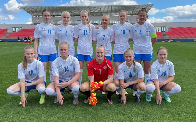 U19 - La première place en jeu face à la SUEDE
