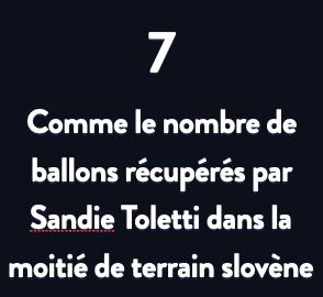 Bleues – Trois statistiques à retenir de SLOVÉNIE - FRANCE