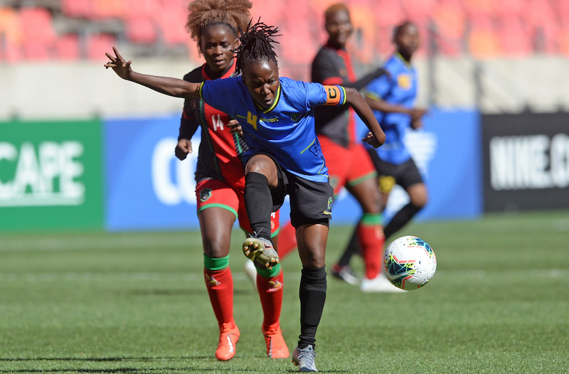 La capitaine Amina Ally Bilali a été élue joueuse du tournoi (photo COSAFA)