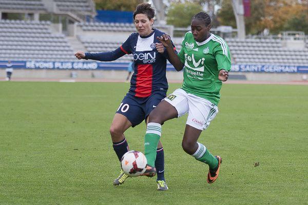 Sissoko et les Vertes sont amoindries défensivement (photo Eric Baledent)