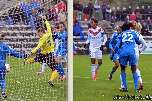 Wendie Renard a inscrit le second but pour Lyon