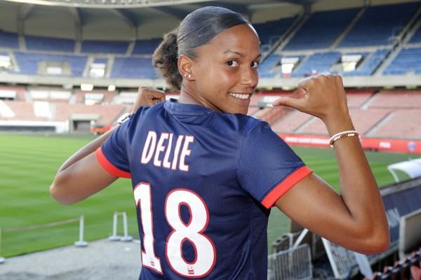 Delie, en tête avec 16 buts sous ses nouvelles couleurs (photo club)