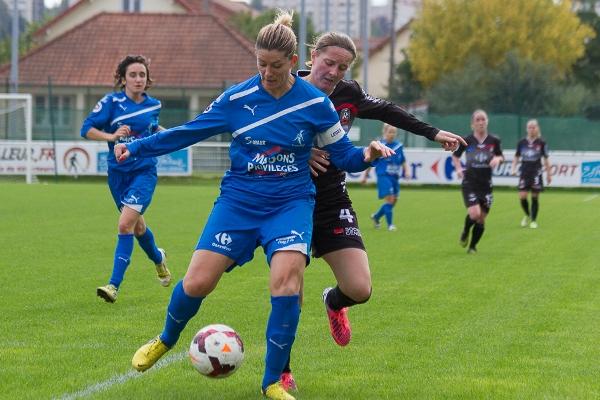 Marina Pascaud, la capitaine de Soyaux, a pleinement retrouvé la D1 cette saison (photo W Morice)