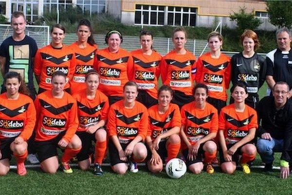 Fin de l'aventure en coupe de France pour les filles du Saint-Georges Football Club. Photo www.st-georges-fc.org