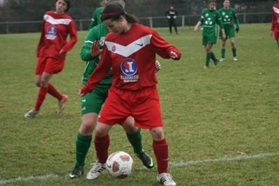 Jennifer Boissou a inscrit le premier but du match