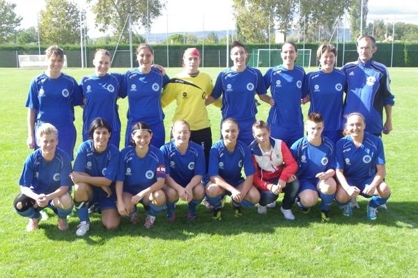 Les joueuses de Pierrelatte Atom Sport Football joueront finalement le 12 janvier (photo club)