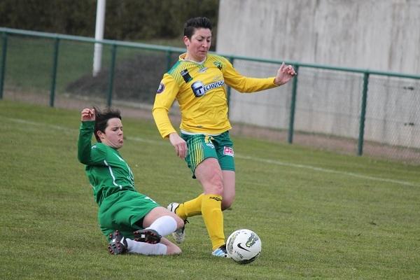 Dorothée Gazagne et le Nantes Saint-Herblain FF s'inclinent dans le duel de l'Atlantique