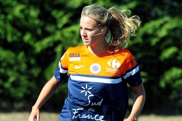 Sandie Toletti porte les couleurs du MHSC depuis 2010 (source : MHSC)
