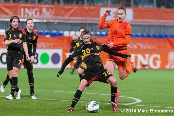 La Belgique a réussi à accrocher les Pays-Bas