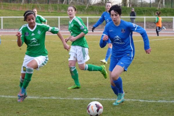 Aude Moreau et les Stéphanoises se sont rendu le match facile (Photo : Thibault Simonnet)