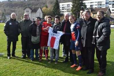 Le PSG a ouvert un maillot dédicacé à la 2500ème licenciée féminine de Lorraine