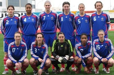 Le onze tricolore en 2009 (photo Sébastien Duret)