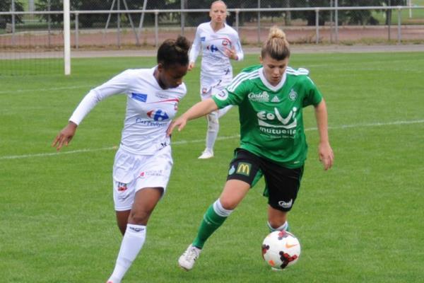 Laura Bouillot, à droite, a depuis rejoint Dijon