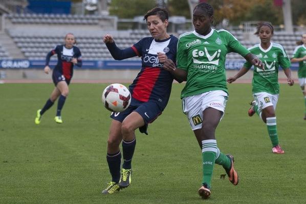 Au match aller, les Parisiennes avaient étrillé les Vertes (5-0)... Qu'en sera t'il du match retour ?