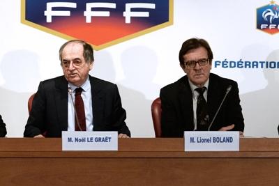 Le Président de la FFF et de la LFA (photo archive)