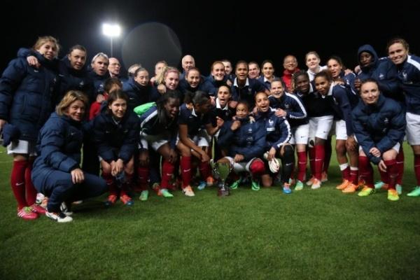 La victoire à Chypre a été bénéfique aux Bleues (photo Sébastien Duret)