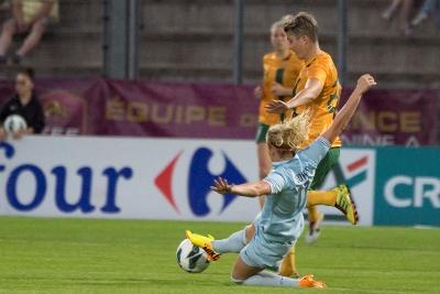 La défenseure de Juvisy a appris sa sélection vendredi dernier, par son club...