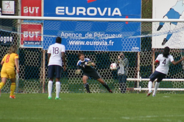 Penalty manqué par Tounkara