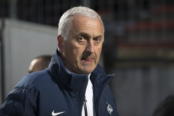 Philippe Bergerôo n'a toujours pas perdu un match à la tête des Bleues (Photo : Eric Baledent.)