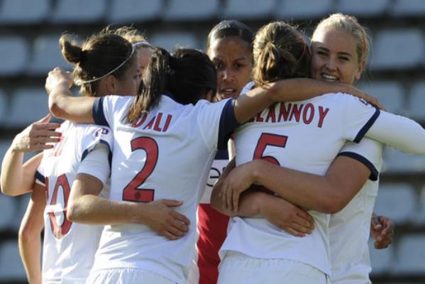 Les Parisiennes retrouveront Juvisy en demi-finale (crédit : PSG)