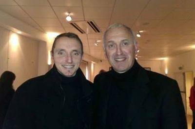 Victorien Boulon, à gauche, né le 13 février 1983, est actuellement coach à l'ES Bully (photo club)