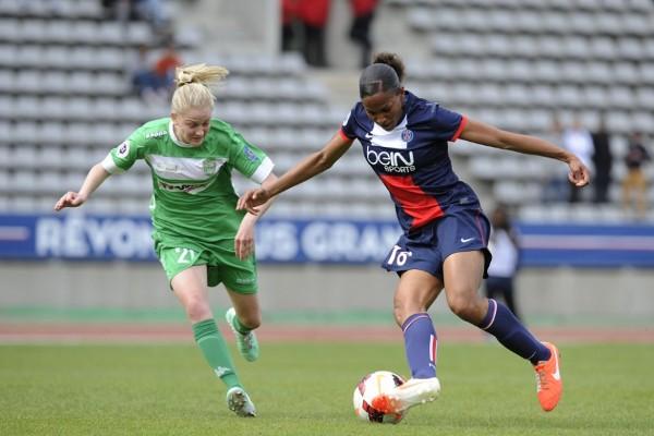 Le duel entre Juvisy et le PSG se joue aussi chez les buteuses (photo PSG.fr)