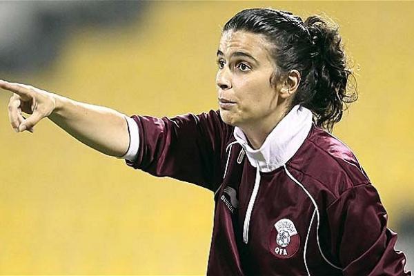Helena Costa (36 ans) va entraîner le Clermont Foot (L2) l'année prochaine (Photo : wikipedia).