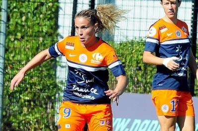 """""""Se surpasser pour bien figurer dans cette confrontation"""", le crédo d'Elodie Ramos... (Photo : Club)."""