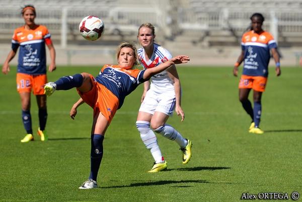 Une prestation encourageante pour les Montpelliéraines, qui voulaient se racheter après la claque subie en coupe de France (défaite 0-6)