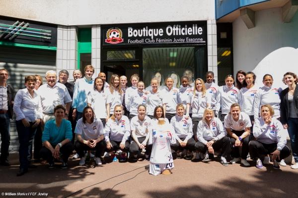 Le FCF Juvisy a inauguré sa boutique officielle
