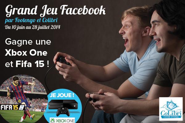 Jeu concours FOOTENGO/COLIBRI - Une Xbox one et Fifa 15 à gagner !