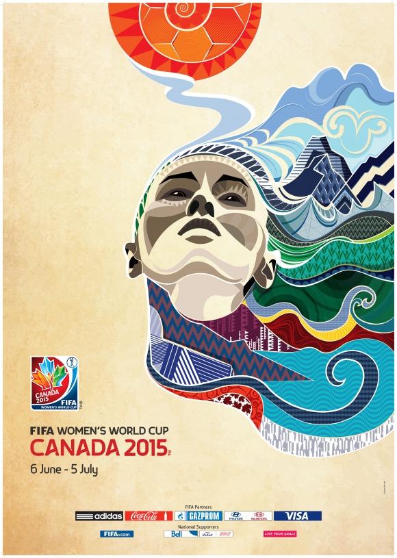 Coupe du Monde 2015 - L'affiche officielle dévoilée