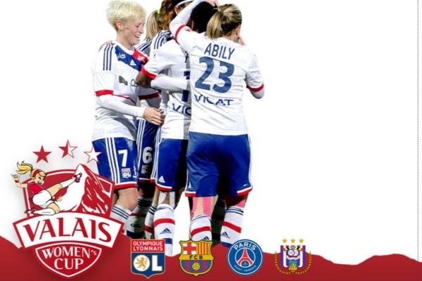 """L'OL et le PSG au tournoi """"La Valais Cup"""""""