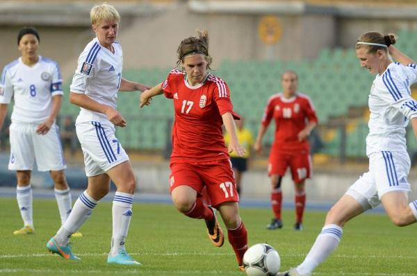 La Hongrie en rouge, prochain adversaire des Bleues (photo mlsz)