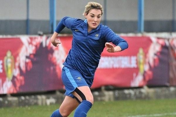 Claire Lavogez fait partie du groupe champion d'Europe l'an dernier en U19 (photo UEFA)