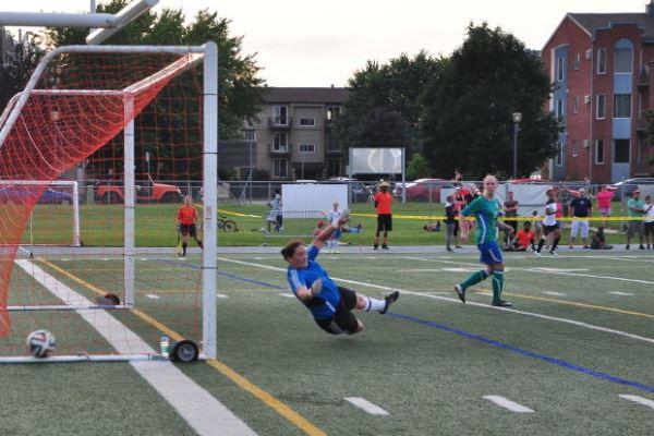 L'un des quatre buts tricolores (source : EDR)