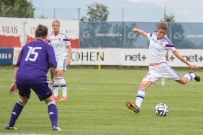 La jeune Lyonnaise Noémie Carage (photo Valais Cup)