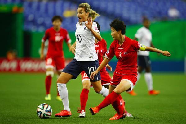 Claire Lavogez a encore réalisé un gros match (photo FIFA)